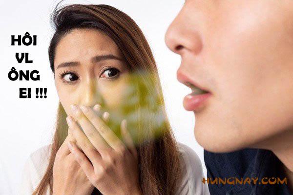 ế vợ vì hôi miệng