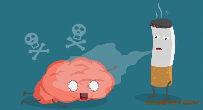 hút thuốc là gây hôi miệng