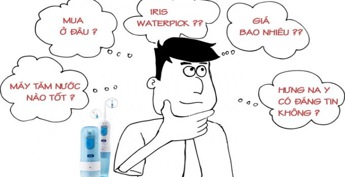 máy tăm nước iris waterpic có tốt không