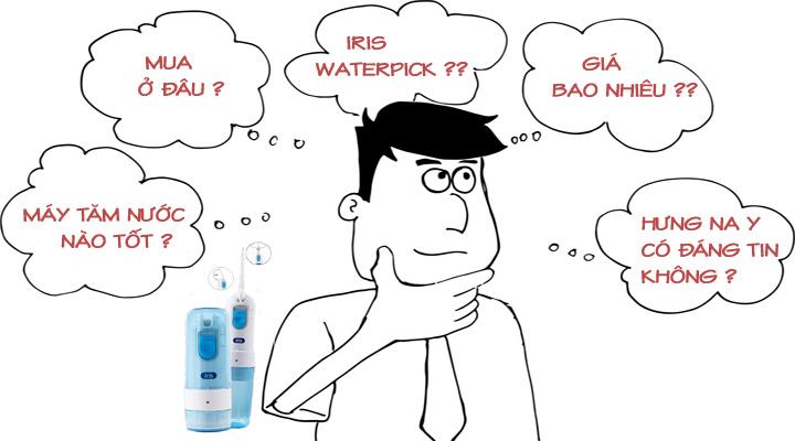 máy tăm nước IRIS Waterpick có tốt không