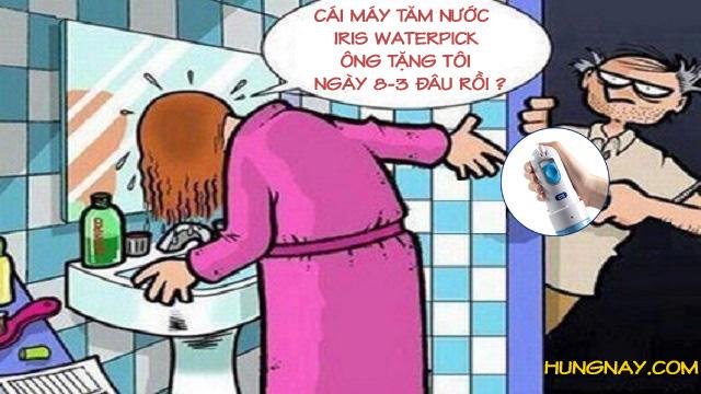 tặng máy tăm nước cho vợ ngày 8-3
