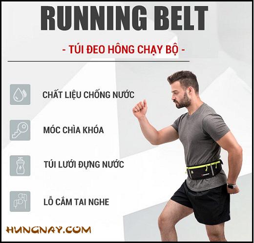 túi đeo hông chạy bộ running belt